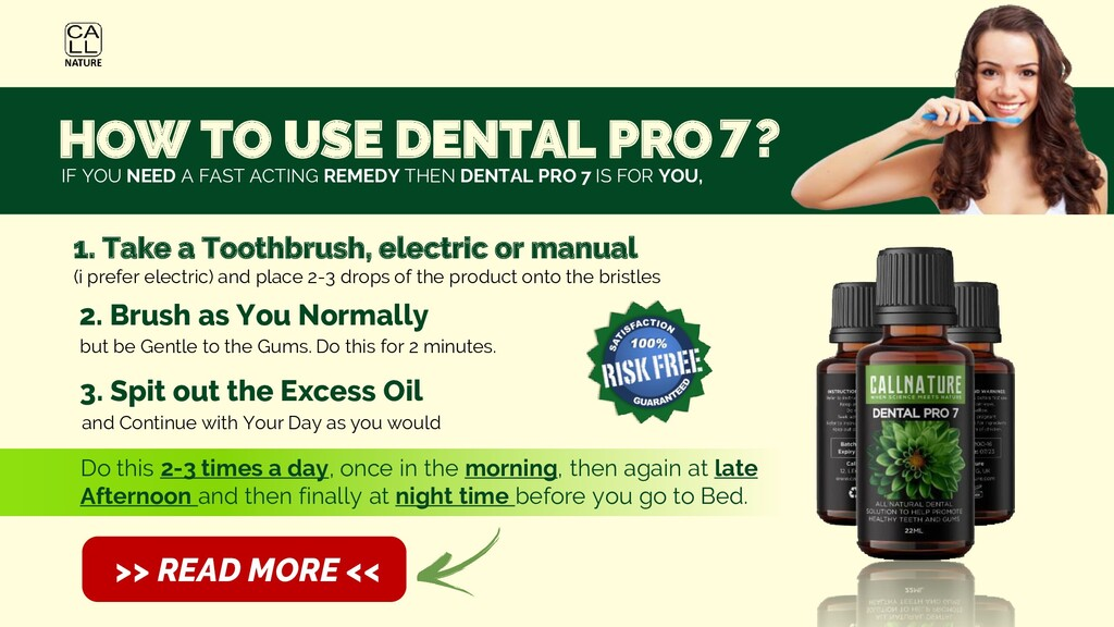 Dental Pro 7 How To Use?